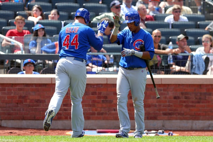 Anthony Rizzo and Starlin Castro (USA TODAY Sports Images)